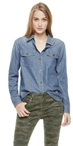 Two by Vince Camuto Denim Utility Shirt
