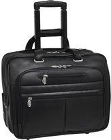 McKlein McKleinUSA Wrightwood 17 Leather Wheeled Laptop Briefcase