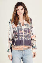 True Religion Womens Bomber