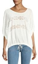 Free People Oversized Relaxed Fit Blouse
