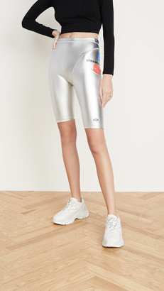 Adidas Originals By Alexander Wang Silver Shorts