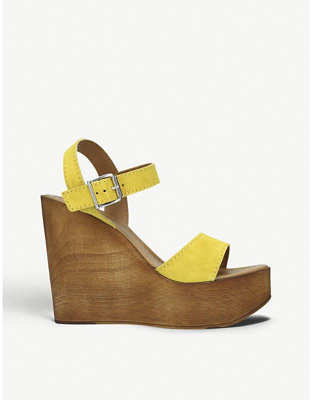 c9cd4eb22d0 Roman suede wedge sandals