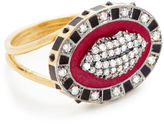 Holly Dyment Glam Lip Enamel Ring