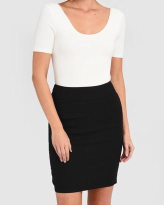 Forcast Sandy Pencil Skirt