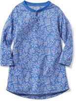 Old Navy Patterned Sleep Dress for Toddler & Baby