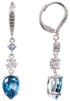 Judith Jack Sterling Silver Triple Drop Crystal Earrings