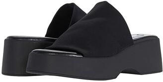 Steve Madden Slinky30 Sandal (Black) Women's Shoes