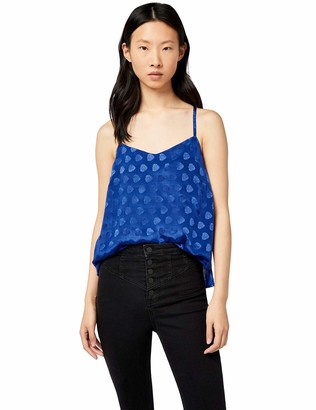 Find. Amazon Brand Women's Jacquard Cami Top Sleeveless Blouse