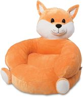 Trend Lab Fox Plush Character Chair in Orange
