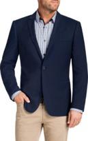TAROCASH Duke Textured 1 Button Jacket
