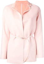 Loro Piana belted reversible coat