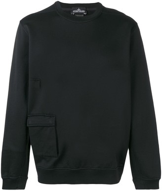 Stone Island Shadow Project flap pocket sweatshirt