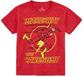Novelty T-Shirts The Flash Awesome Graphic T-Shirt - Preschool 4-7X