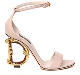 Dolce & Gabbana Barocco Nappa Leather Sandals