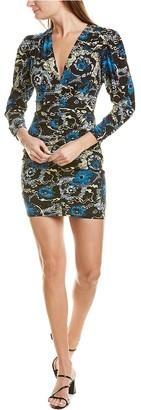 A.L.C. Roxy Silk-Blend Mini Dress