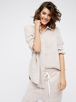 Free People Shimmering Shore Buttondown