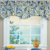 Waverly Imperial Dress Rod-Pocket Scalloped Valance