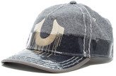 True Religion Two-Tone Coated Baseball Cap