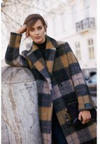 Part Two - Oversize Check Patterned Coat - 36