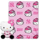 Hello Kitty MLB Yanks Blanket and Hugger Bundle (40 x 50)
