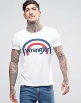 Wrangler Retro Print T-shirt Logo