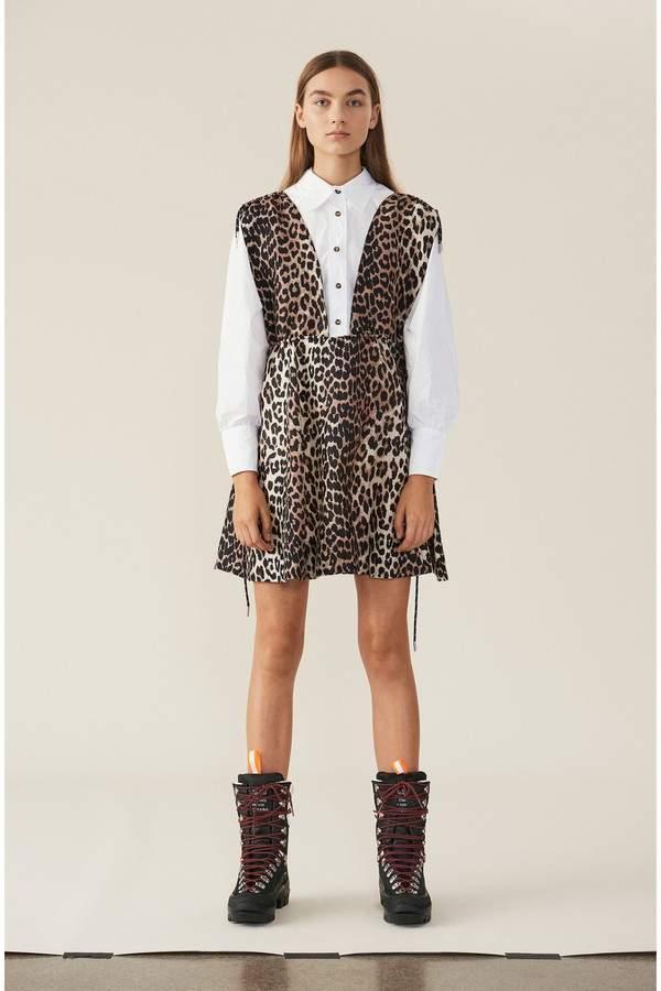 0ec2e1e09944 Ganni Brown Dresses - ShopStyle