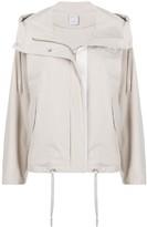 Lorena Antoniazzi short hooded parka jacket