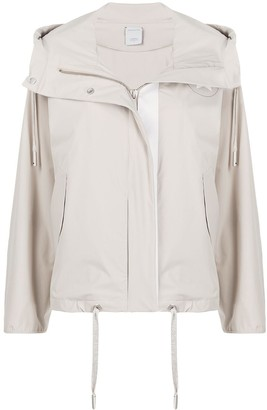 Lorena Antoniazzi Short Hooded Parka Jacket