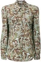 Chloé retro patterned shirt