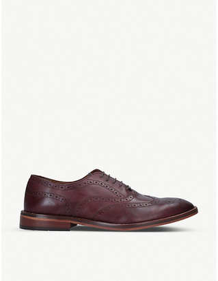 Kg Kurt Geiger Sky perforated leather brogues