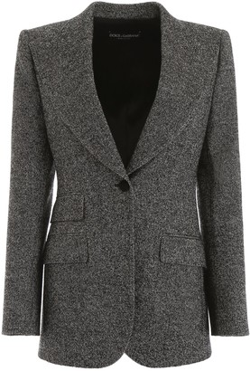 Dolce & Gabbana Single Breasted Fitted Blazer
