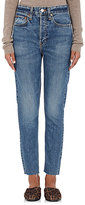 RE/DONE Women's The High Rise Jeans-BLUE