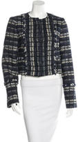 Proenza Schouler Tweed Snap Jacket w/ Tags