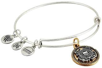 Alex and Ani Coast Guard Bangle Bracelet (Two-Tone) Bracelet