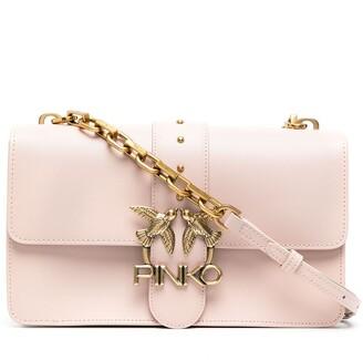 Pinko Classic Love Icon satchel