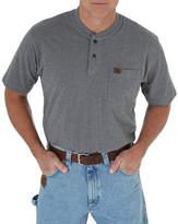 Wrangler Riggs Short Sleeve Henley Shirt