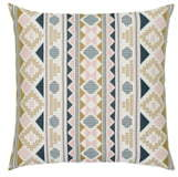Elaine Smith Roca Stripe Indoor/Outdoor Accent Pillow