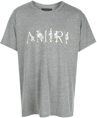 Amiri floral logo T-shirt