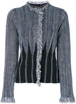 Emporio Armani short fitted jacket