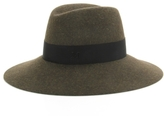 Maison Michel Kate Military Green Hat