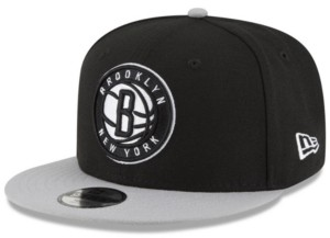 New Era Boys' Brooklyn Nets Basic 9FIFTY Snapback Cap