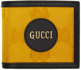 Gucci Yellow Off The Grid GG Wallet