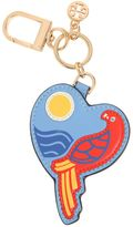 Tory Burch Leather Parrot Key Chain