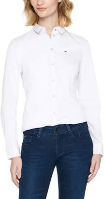 Tommy Hilfiger Tommy Jeans Women's Button Original Stretch Shirt
