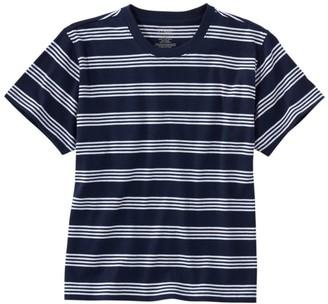 L.L. Bean Women's Saturday T-Shirt, Crewneck Short-Sleeve Stripe