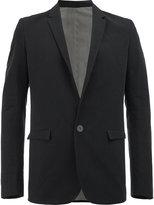 Label Under Construction flap pockets blazer - men - Silk/Cotton/Linen/Flax - 48