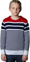 Leo&Lily Big Boys' Long Sleeve Crew Neack knit Sweater Style