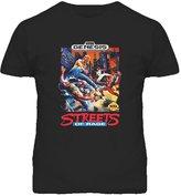 The Village T Shirt Shop Streets Of Rage Sega Genesis Box Art T Shirt XL