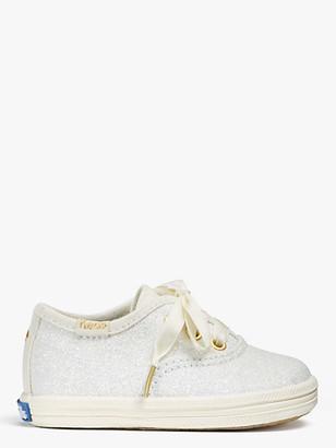 Kate Spade Keds Kids X Champion Glitter Crib Sneakers