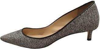 Jimmy Choo Romy Grey Tweed Heels